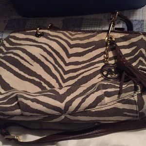 MK animal print bag
